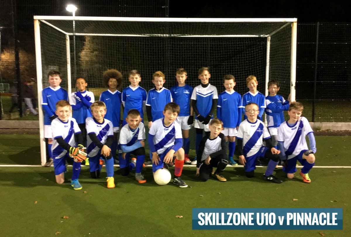 SkillZone U10 v Pinnacle