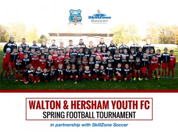 Walton & Hersham Youth FC and SkillZone Tournament